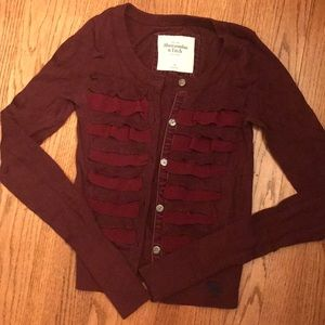 Abercrombie and Fitch xs cardigan sweater